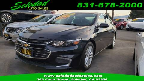 2017 Chevrolet Malibu for sale at Soledad Auto Sales in Soledad CA