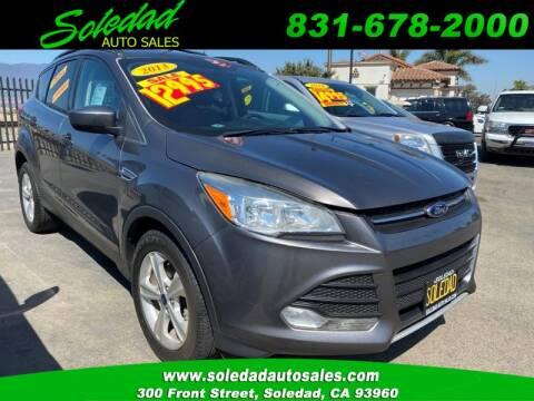 2013 Ford Escape for sale at Soledad Auto Sales in Soledad CA