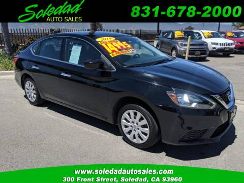 2019 Nissan Sentra for sale at Soledad Auto Sales in Soledad CA