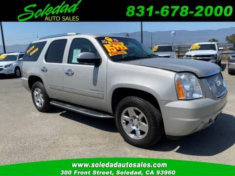 2009 GMC Yukon for sale at Soledad Auto Sales in Soledad CA