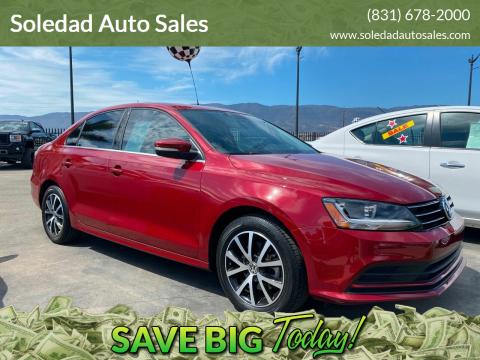 2017 Volkswagen Jetta for sale at Soledad Auto Sales in Soledad CA