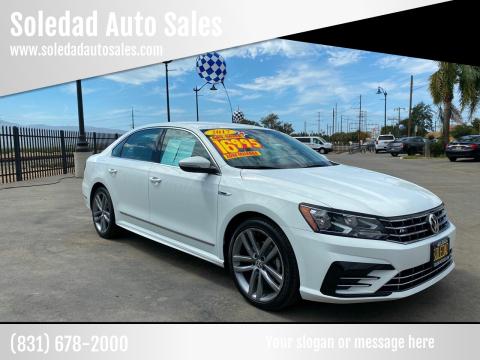 2017 Volkswagen Passat for sale at Soledad Auto Sales in Soledad CA