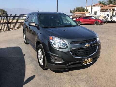 2017 Chevrolet Equinox for sale at Soledad Auto Sales in Soledad CA