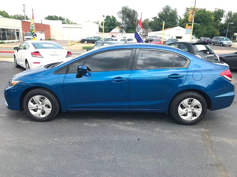 2014 Honda Civic LX 4dr Sedan CVT - Wichita KS