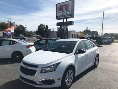 2016 Chevrolet Cruze Limited for sale in Wichita, KS