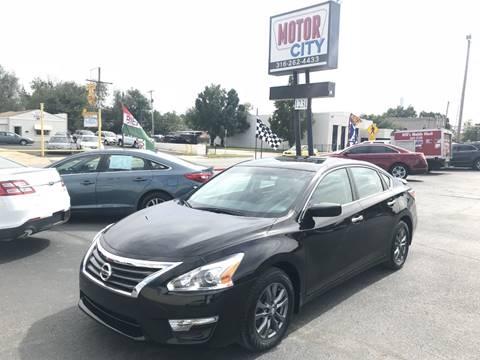 2015 Nissan Altima For Sale In Wichita, KS