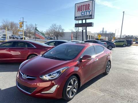 2014 Hyundai Elantra for sale in Wichita, KS