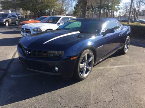 2012 Chevrolet Camaro for sale at Mike's Auto Sales INC in Chesapeake VA