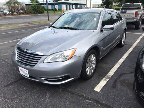 2014 Chrysler 200 for sale at Mike's Auto Sales INC in Chesapeake VA