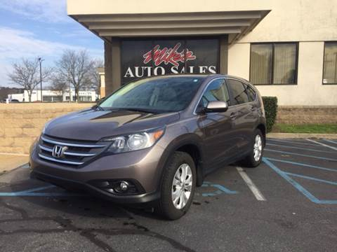 2013 Honda CR-V for sale at Mike's Auto Sales INC in Chesapeake VA