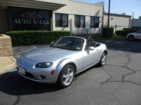 2006 Mazda MX-5 Miata for sale at Mike's Auto Sales INC in Chesapeake VA