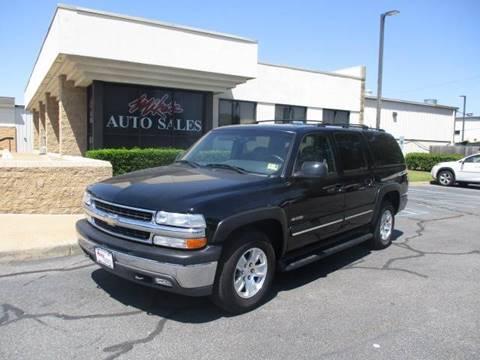 2000 Chevrolet Suburban for sale at Mike's Auto Sales INC in Chesapeake VA