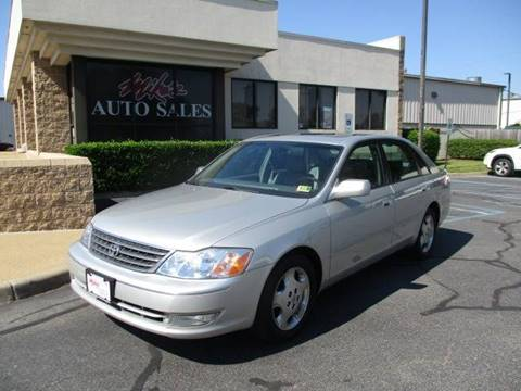 2003 Toyota Avalon for sale at Mike's Auto Sales INC in Chesapeake VA