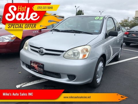 2003 Toyota ECHO for sale in Chesapeake, VA