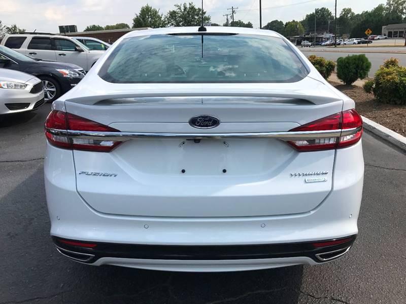 2017 Ford Fusion Titanium 4dr Sedan - Hickory NC