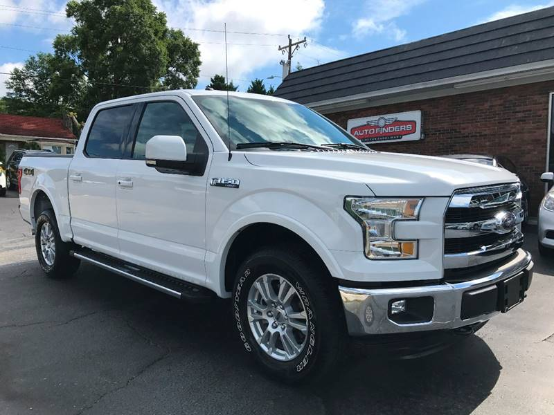 2016 Ford F-150 Lariat 4x4 4dr SuperCrew 5.5 ft. SB - Hickory NC