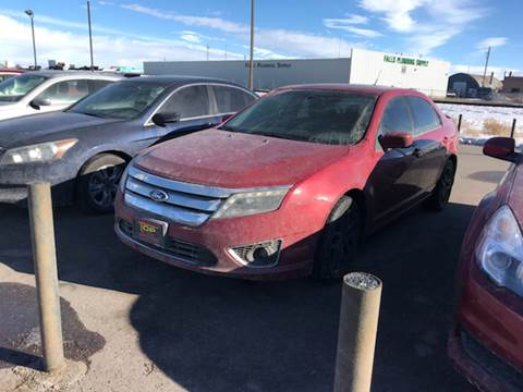 2010 Ford Fusion for sale at Top Line Auto Sales in Idaho Falls ID
