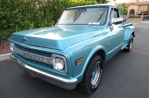 1969 c10 custom deluxe