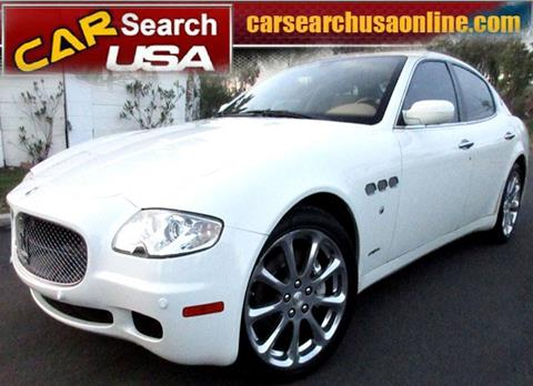 2007 Maserati Quattroporte for sale in North Hollywood, CA