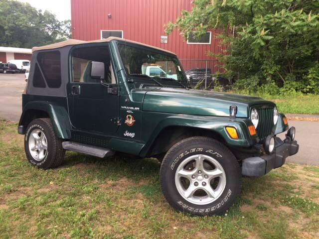 2001 Jeep Wrangler 2dr Sahara 4WD SUV   Windsor Locks CT