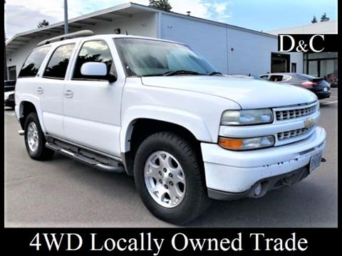 2002 Chevrolet Tahoe For Sale In Portland Or