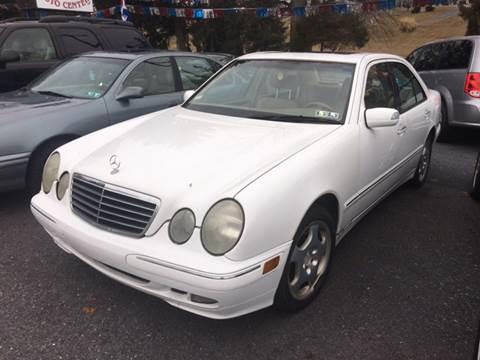 2001 Mercedes-Benz E-Class for sale at Harrisburg Auto Center Inc. in Harrisburg PA