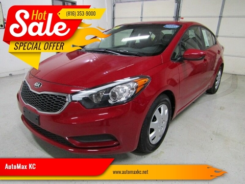 2016 Kia Forte LX for sale at AutoMax KC in Raytown MO