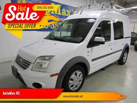 2012 Ford Transit Connect Wagon XLT for sale at AutoMax KC in Raytown MO