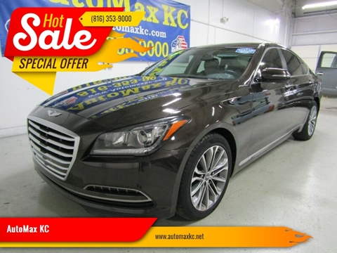 2015 Hyundai Genesis 3.8L for sale at AutoMax KC in Raytown MO