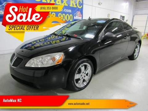 2008 Pontiac G6 GT for sale at AutoMax KC in Raytown MO