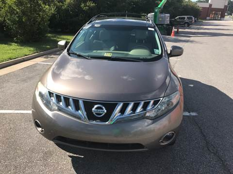2010 Nissan Murano for sale at Coastal Automotive in Virginia Beach VA