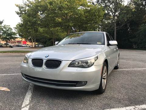 2009 BMW 5 Series for sale at Coastal Automotive in Virginia Beach VA