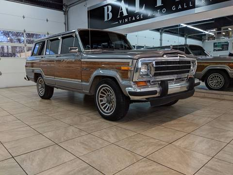 1984 Jeep Grand Wagoneer for sale in Saint Charles, IL