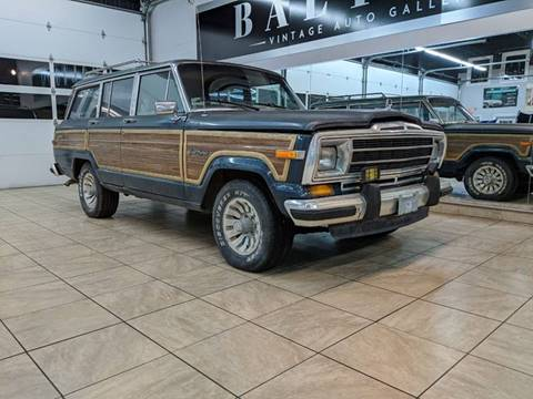 1988 Jeep Grand Wagoneer for sale in Saint Charles, IL
