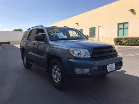 2004 Toyota 4Runner for sale in Glendora, CA
