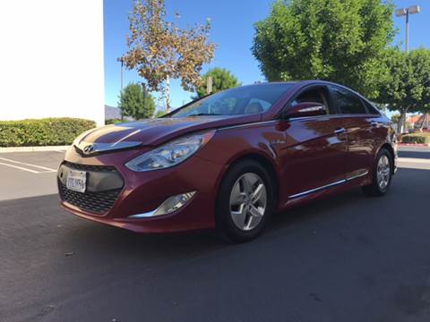2012 Hyundai Sonata Hybrid for sale in Glendora, CA