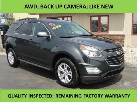 2017 Chevrolet Equinox for sale at All Star Autos, Inc in La Porte IN