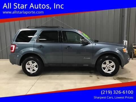 2010 Ford Escape Hybrid for sale at All Star Autos, Inc in La Porte IN