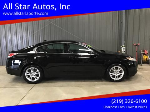2010 Acura TL for sale at All Star Autos, Inc in La Porte IN