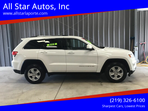2015 Jeep Grand Cherokee for sale at All Star Autos, Inc in La Porte IN