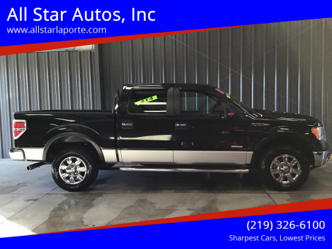 2012 Ford F-150 for sale at All Star Autos, Inc in La Porte IN