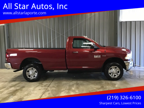 2015 RAM Ram Pickup 2500 for sale at All Star Autos, Inc in La Porte IN