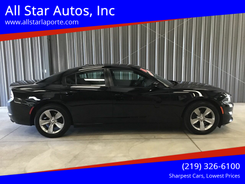 2016 Dodge Charger for sale at All Star Autos, Inc in La Porte IN