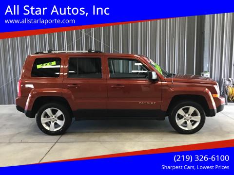 2012 Jeep Patriot for sale at All Star Autos, Inc in La Porte IN