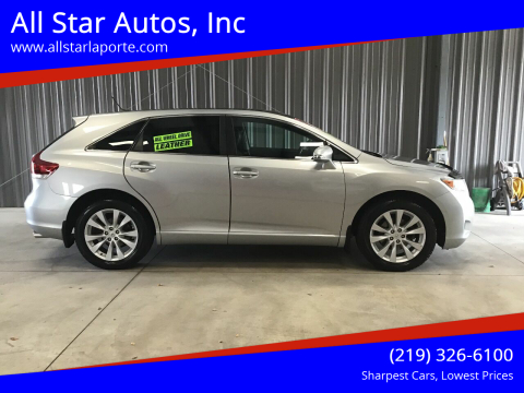 2015 Toyota Venza for sale at All Star Autos, Inc in La Porte IN