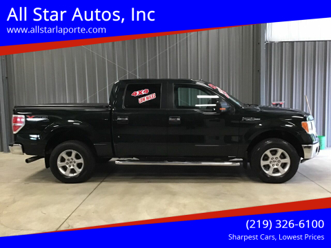 2013 Ford F-150 for sale at All Star Autos, Inc in La Porte IN