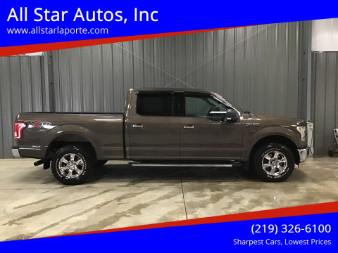 2015 Ford F-150 for sale at All Star Autos, Inc in La Porte IN
