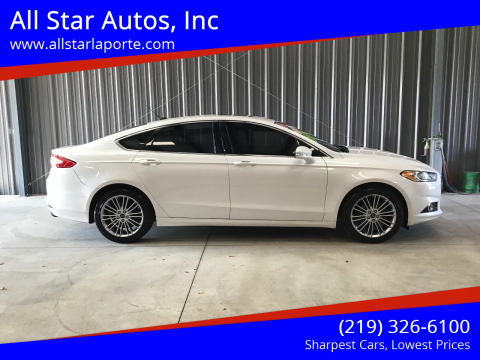 2014 Ford Fusion for sale at All Star Autos, Inc in La Porte IN