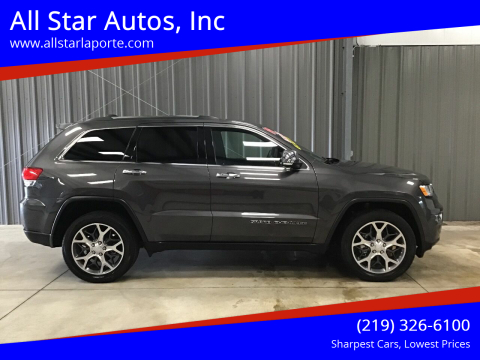 2019 Jeep Grand Cherokee for sale at All Star Autos, Inc in La Porte IN