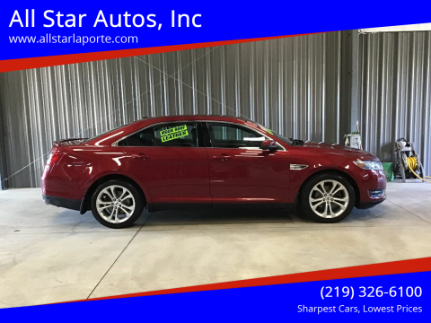 2013 Ford Taurus for sale at All Star Autos, Inc in La Porte IN